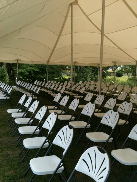 30x50 tent w chairs